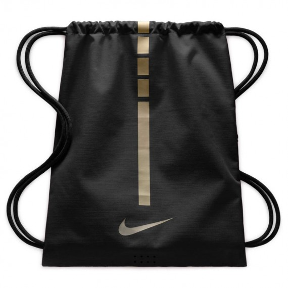 GYMSACK HOOPS ELITE BLACK AND GOLD