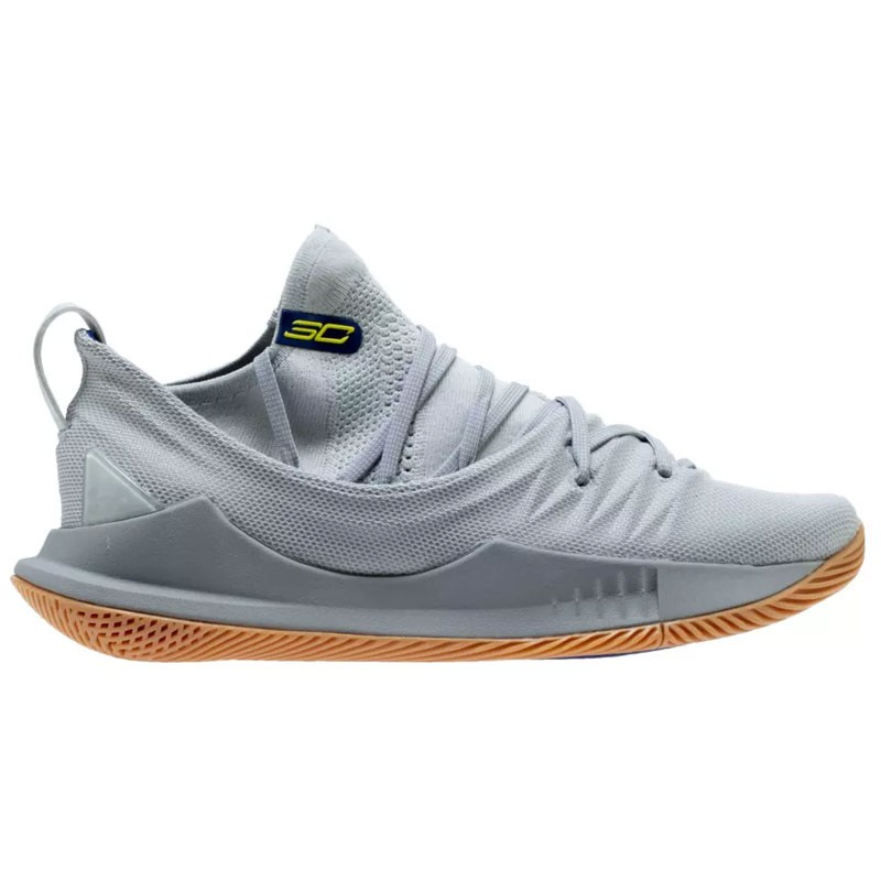 CURRY 5 GREY