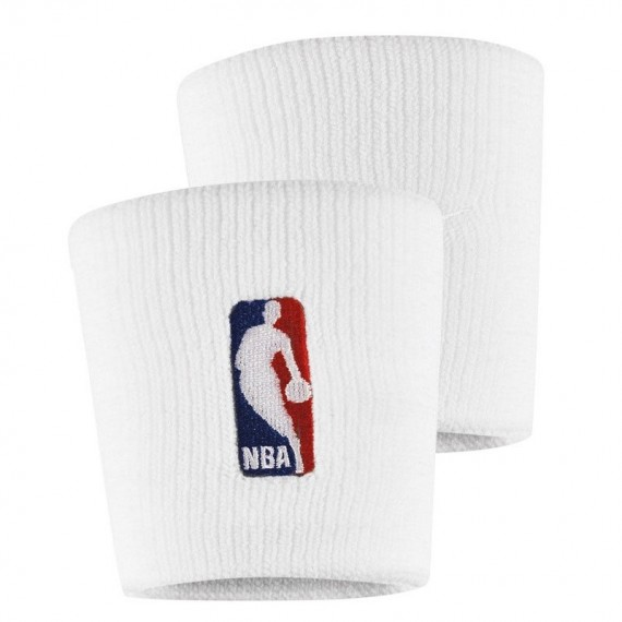 WRISTBANDS NBA WHITE