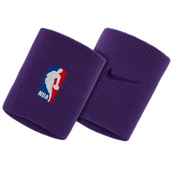 WRISTBANDS NBA PURPLE