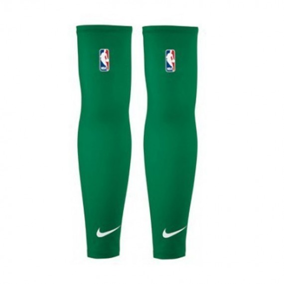 SHOOTER SLEEVES NBA GREEN (PACK DE 2)