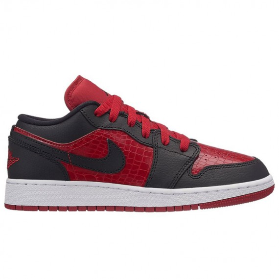 JORDAN 1 LOW RED (JUNIOR)