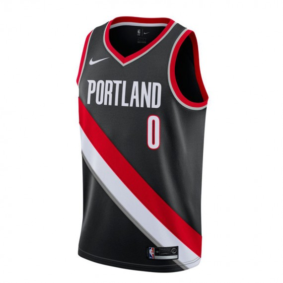 DAMIAN LILLARD ICON EDITION SWINGMAN JERSEY ROAD PORTLAND