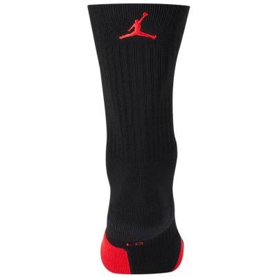 U JORDAN CREW NBA BLACK RED