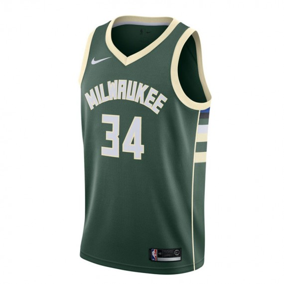 GIANNIS ANTETOKOUNMPO ICON EDITION SWINGMAN JERSEY ROAD MILWAUKEE