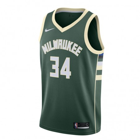 Giannis Antetokounmpo Icon Edition Swingman Jersey - Basket World 9dc64b02e02aa
