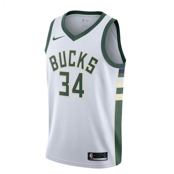 GIANNIS ANTEKOUNMPO ASSOCIATION EDITION SWINGMAN JERSEY MILWAUKEE BUCKS