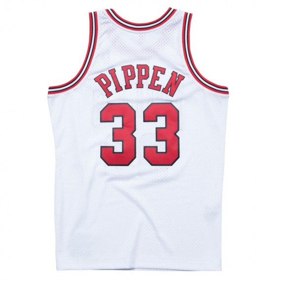 SCOTTIE PIPPEN CHICAGO BULLS WHITE HARDWOOD CLASSIC