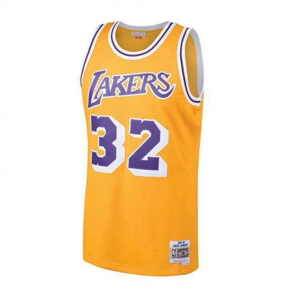 MAGIC JOHNSON LOS ANGELES LAKERS HARDWOOD CLASSIC
