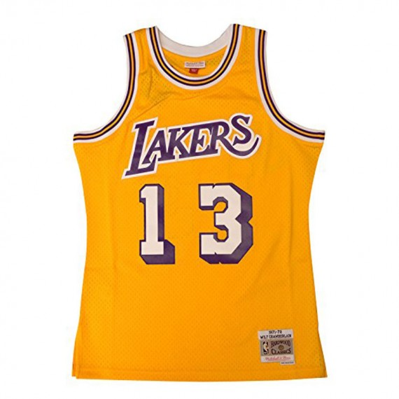WILT CHAMBERLAIN LOS ANGELES LAKERS HARDWOOD CLASSIC
