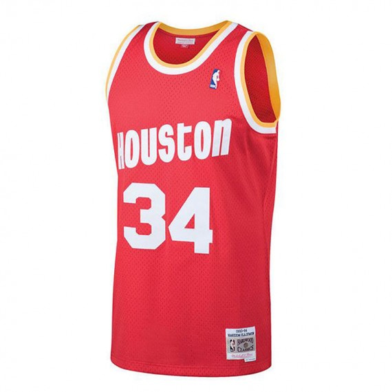 HAKEEM OLAJUWON HOUSTON ROCKETS HARDWOOD CLASSIC