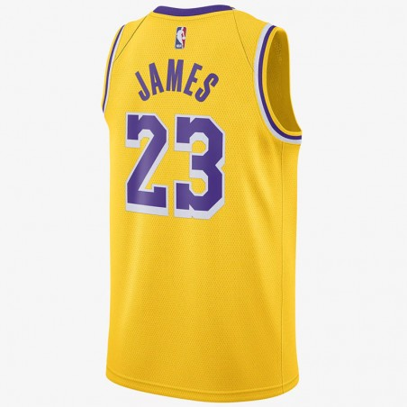 LEBRON JAMES ICON EDITION SWINGMAN JERSEY LOS ANGELES LAKERS (JUNIOR)