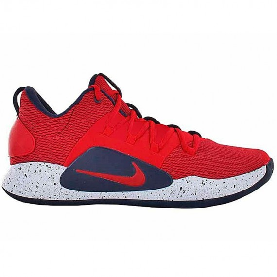 HYPERDUNK X LOW UNIVERSITY RED