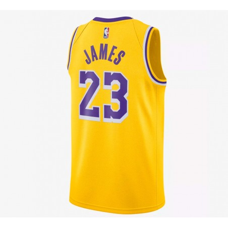 LEBRON JAMES ICON EDITION SWINGMAN JERSEY LOS ANGELES LAKERS