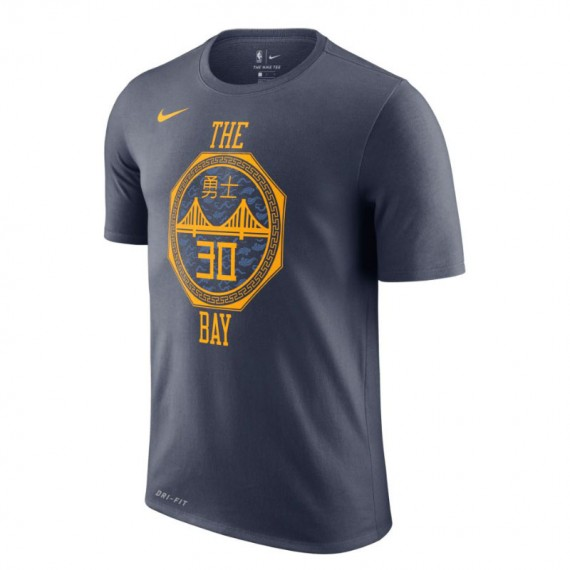 STEPHEN CURRY GOLDEN STATE WARRIORS CITY EDITION DRY