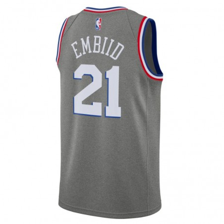 JOEL EMBIID CITY EDITION SWINGMAN JERSEY PHILADELPHIA 76ERS