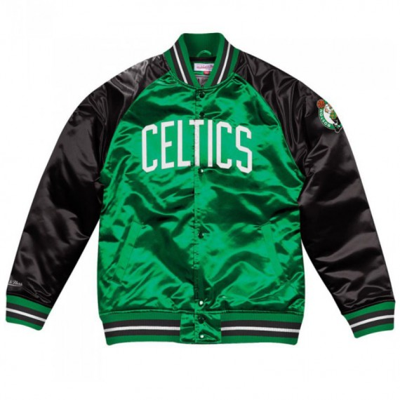 TOUGH SEASON SATIN JACKET BOSTON CELTICS