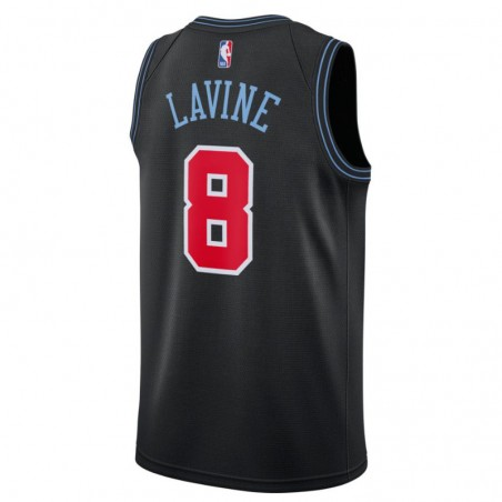 ZACH LAVINE CITY EDITION SWINGMAN JERSEY CHICAGO BULLS