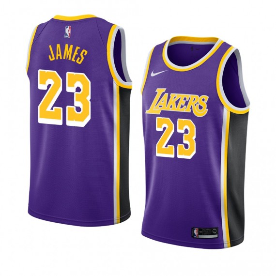LEBRON JAMES STATEMENT EDITION SWINGMAN JERSEY LOS ANGELES LAKERS (JUNIOR)