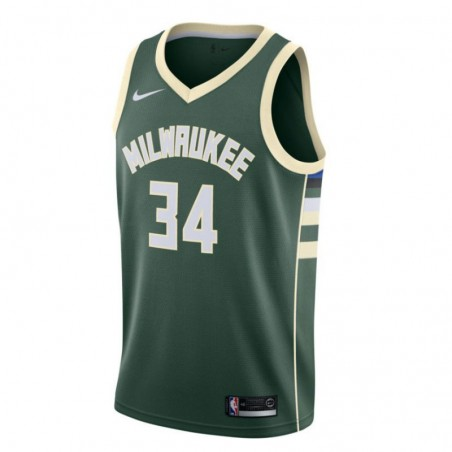 GIANNIS ANTETOKOUNMPO ICON EDITION SWINGMAN JERSEY MILWAUKEE BUCKS (JUNIOR)