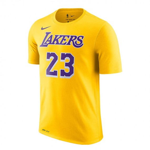 LEBRON JAMES LOS ANGELES LAKERS NIKE DRY
