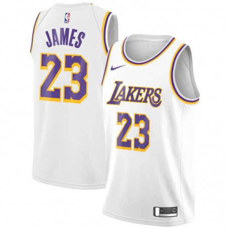 LEBRON JAMES ASSOCIATION EDITION SWINGMAN JERSEY LOS ANGELES LAKERS (JUNIOR)