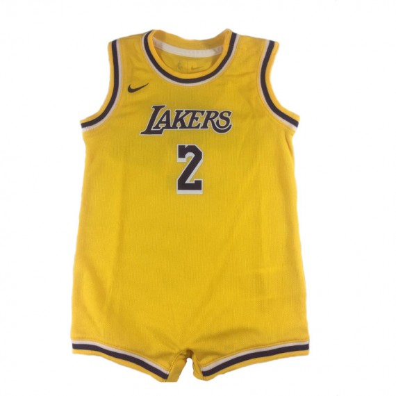 BOYS REPLICA ONESIE JERSEY LAKERS
