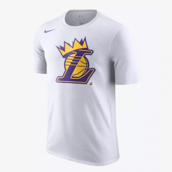 NBA LAKERS CROWN TEE PURPLE (JUNIOR)