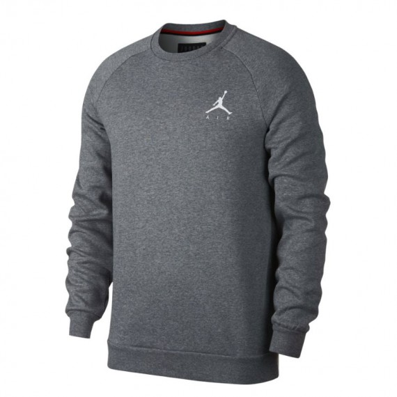 JORDAN JUMPMAN FLEECE CREW GREY