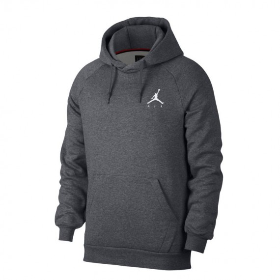 JORDAN JUMPMAN FLEECE PO GREY
