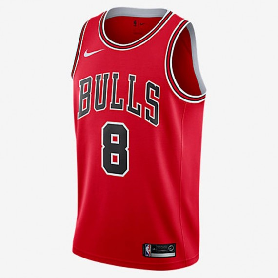 ZACH LAVINE ICON EDITION SWINGMAN JERSEY CHICAGO BULLS (JUNIOR)