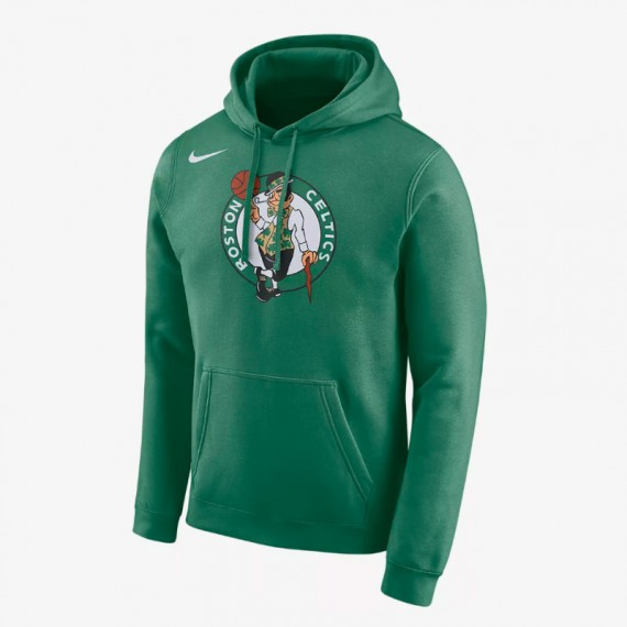 BOSTON CELTICS HOODIE LOGO ESSENTIAL (JUNIOR)