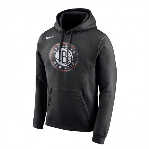 BROOKLYN NETS CITY EDITION HOODIE NBA (JUNIOR)