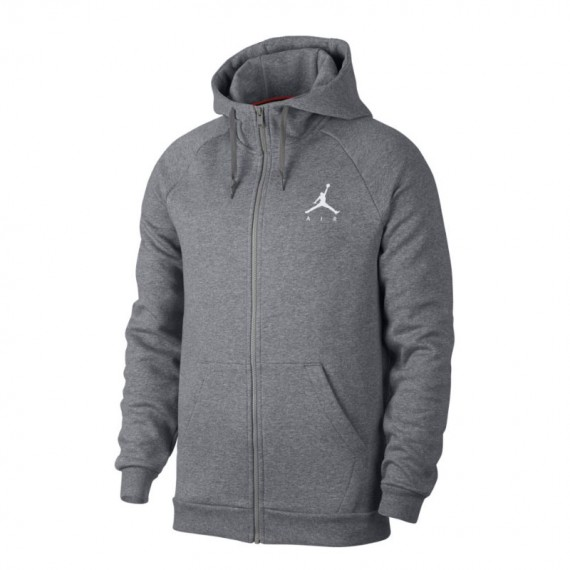 JORDAN JUMPMAN FLEECE FZ GREY