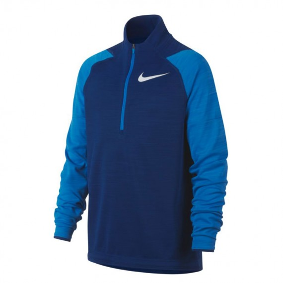 DRY LONG SLEEVE TOP BLUE (JUNIOR)