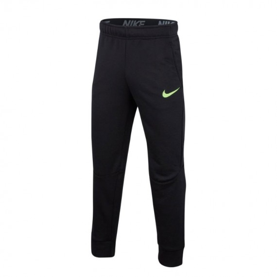 DRY PANT TAPER FLC BLACK (JUNIOR)