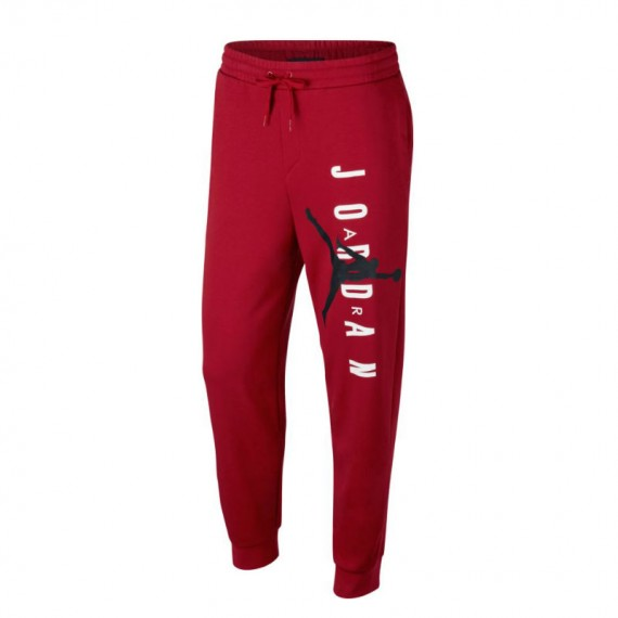 JORDAN JUMPMAN AIR LWT FLC PANT RED