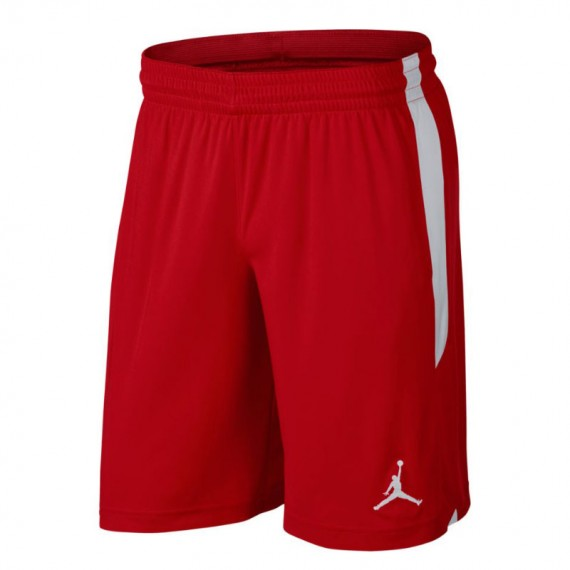 JORDAN 23 ALPHA DRY KNIT SHORT RED