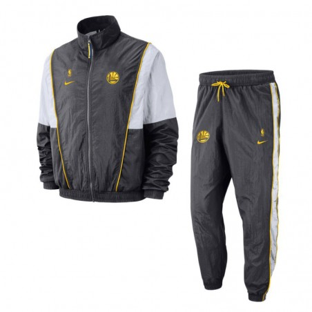 Chandal Golden State Warriors Tracksuit Courtside - Basket World b604ed5d9d6