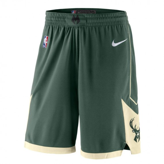MILWAUKEE BUCKS ICON EDITION SWINGMAN SHORT ROAD 18