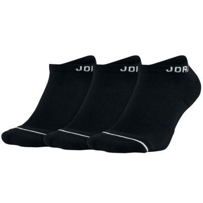 JORDAN JUMPMAN NO SHOW BLACK (PACK DE 3)