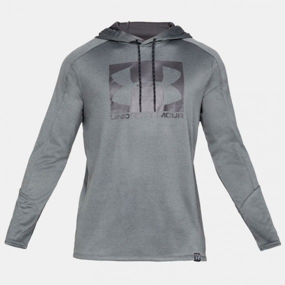 LIGHTER LONGER PO HOODIE GREY