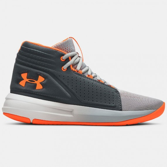 BGS TORCH MID GREY ORANGE (JUNIOR)