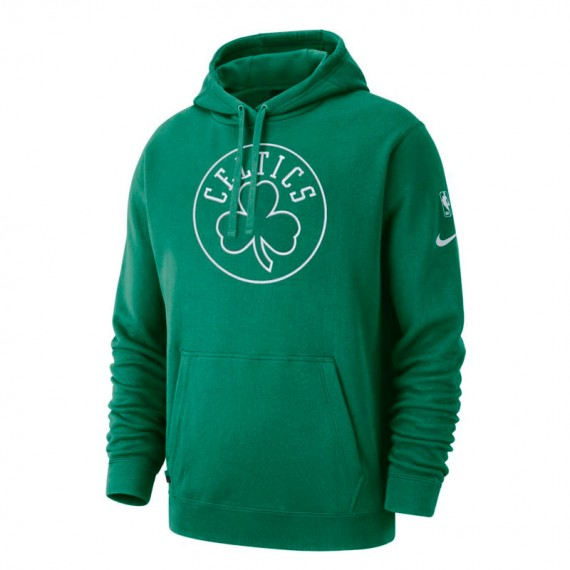 BOSTON CELTICS HOODIE COURTSIDE GREEN