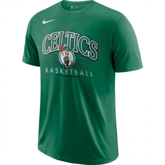 BOSTON CELTICS DRY TEE ES CREST