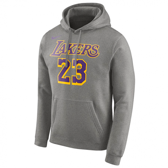 LAKERS 23 LEBRON JAMES HOODIE ESSENTIAL (JUNIOR)