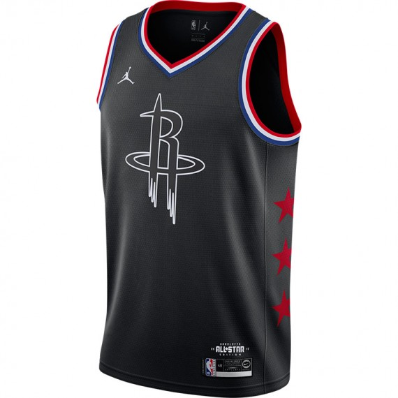 JAMES HARDEN HOUSTON ROCKETS ALL-STAR EDITION SWINGMAN BLACK