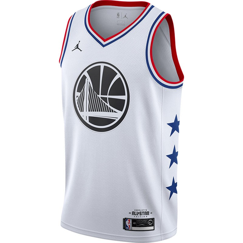 STEPHEN CURRY BLANCAGOLDEN STATE WARRIORS ALL-STAR EDITION SWINGMAN WHITE