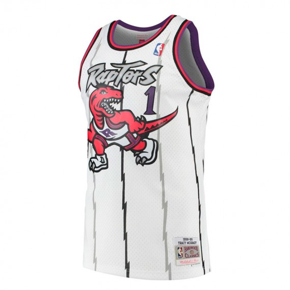 TRACY MCGRADY TORONTO RAPTORS HARDWOOD CLASSIC