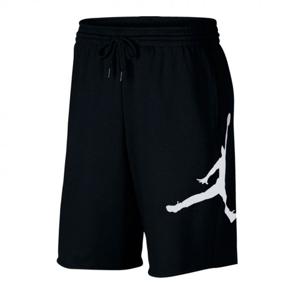 JORDAN JUMPMAN AIR FLEECE SHORT BLACK